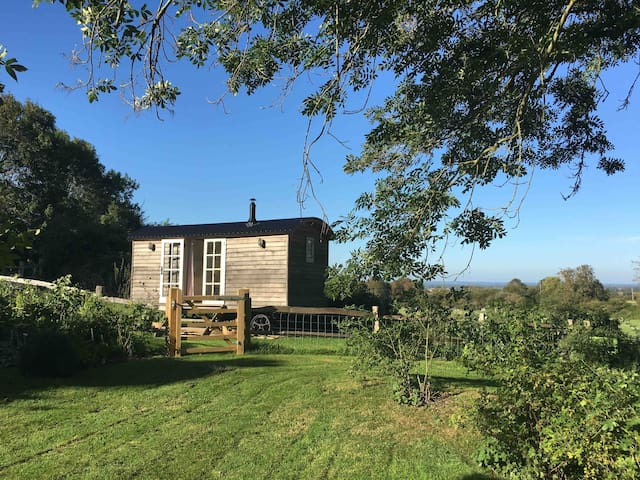 Peaklets Shepherds Hut in the South Downs