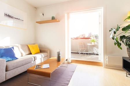 Premium apartment in city center – quiet, parking - Kongsberg - 公寓