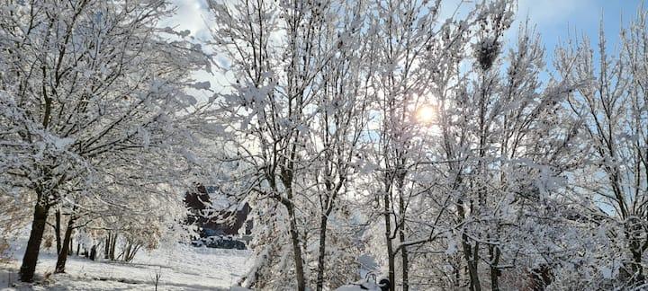 Chalet Montagne station de Ski Margeriaz-Semnoz⛄🌨