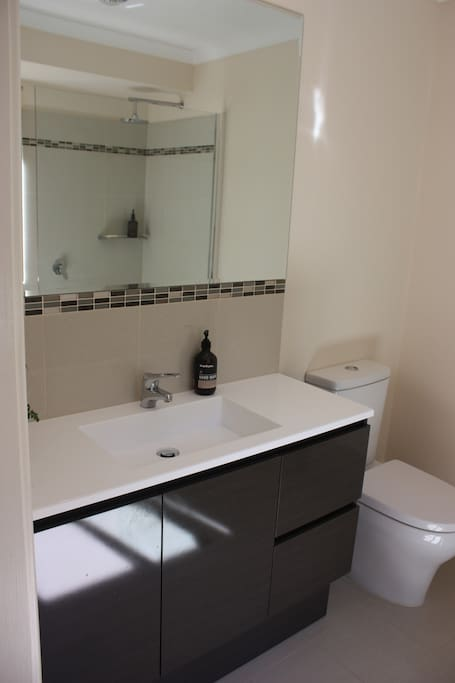 Ensuite with walk-in shower.