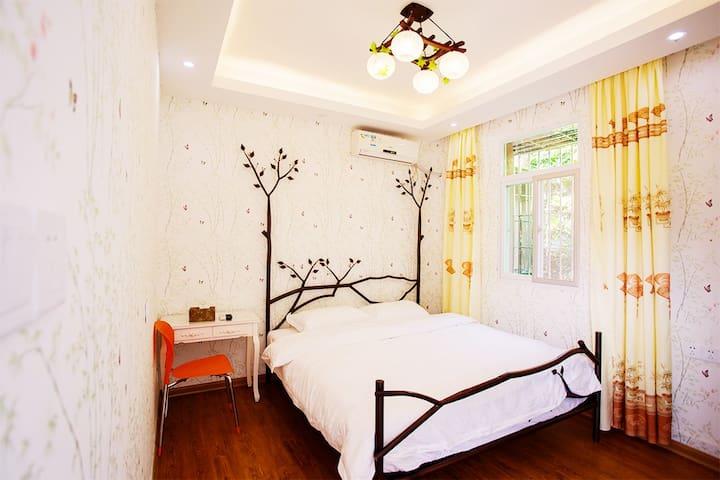【双床或者大床房】独立卫生间可晾衣带窗景点周边亲近自然安静舒适~景点周边33