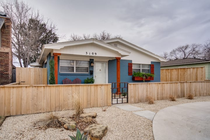 Spacious Tech Terrace home close to TTU and dining