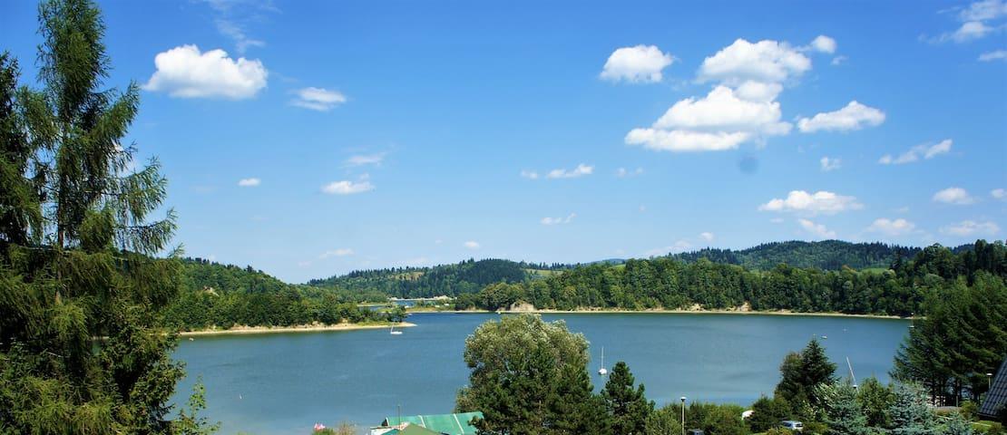 Widok na jezioro