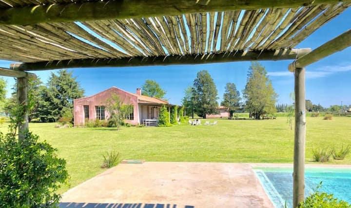 Casa de campo familiar en Capilla del Señor