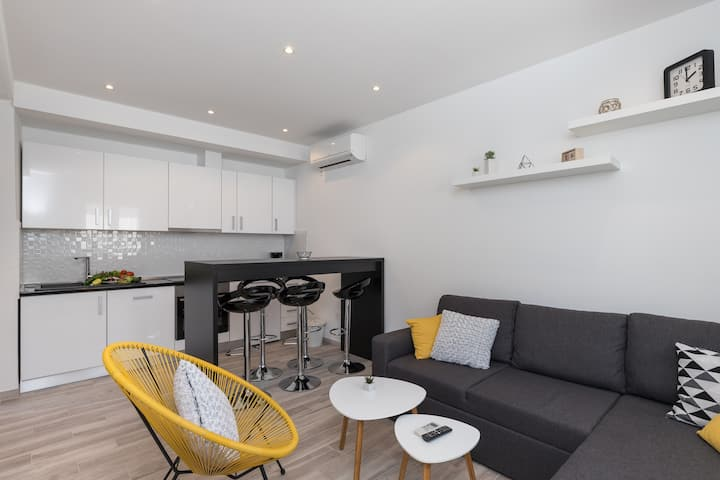 Apartments Siblings - Superior Two Bedroom Apartment with Terrace and Garden View