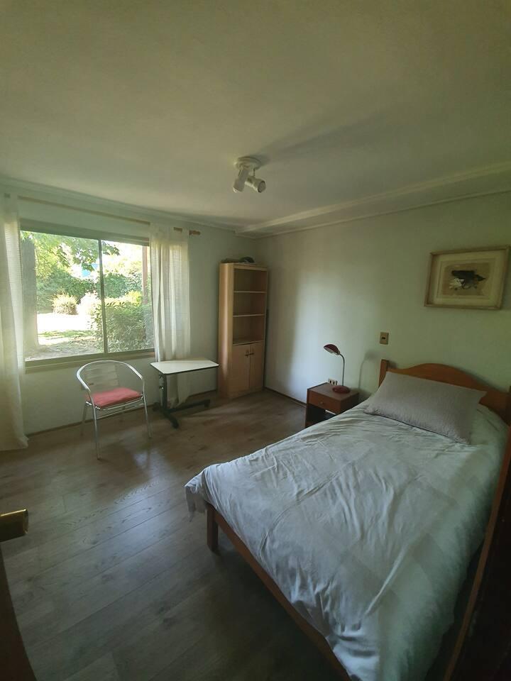 Habitación en exclusivo barrio de Las Condes