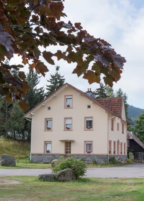 Das alte Pfarrhaus, Nord-Ansicht