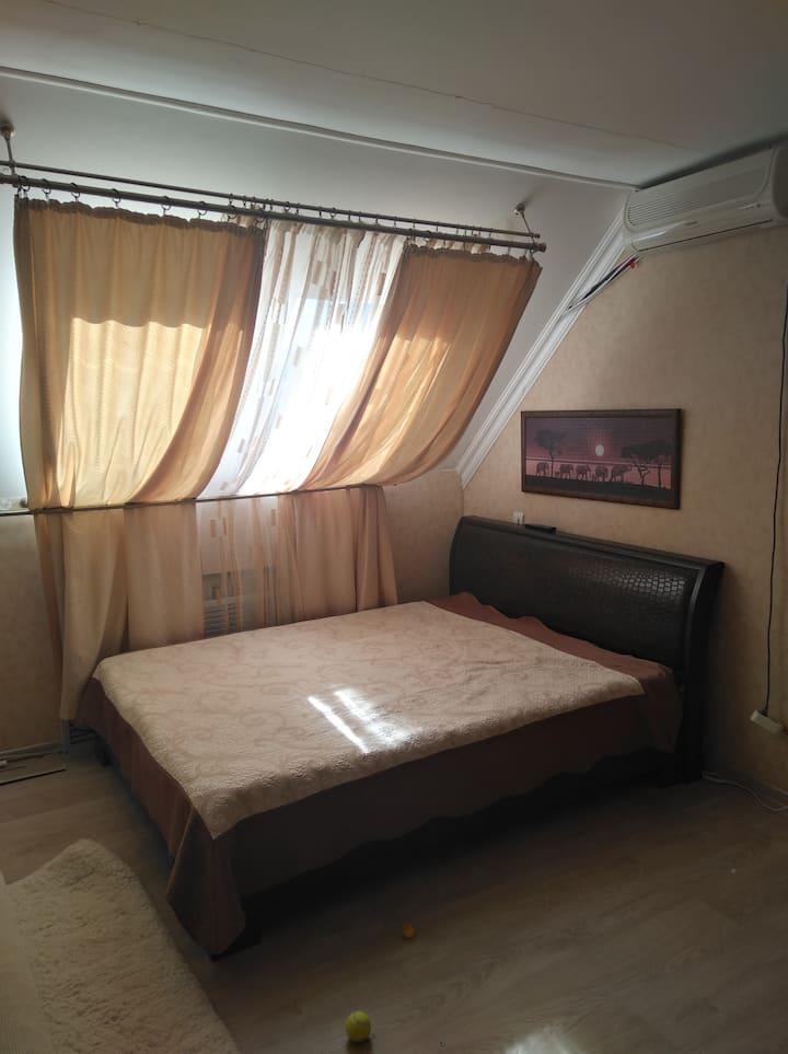 Квартира для отдыха с семьей в центре города