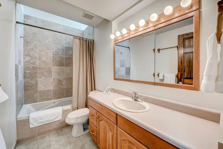 Shared Upstairs bathroom