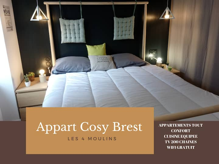APPARTEMENT - COSY BREST 8