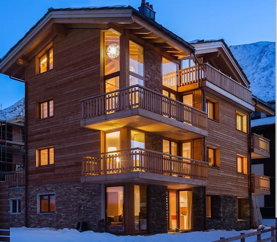 Stunning split-level ski apartment - Saas Fee - Appartamento