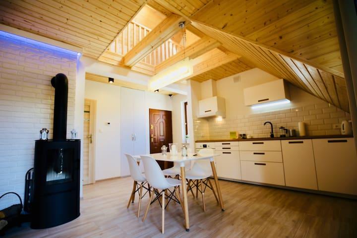 Apartament Czarny Kot - luksus w Pieninach.