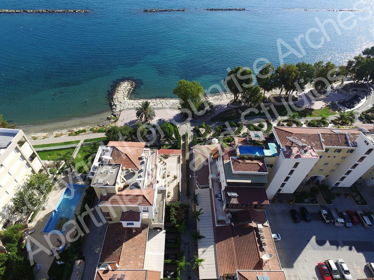 1 bedroom apartments at the sea!