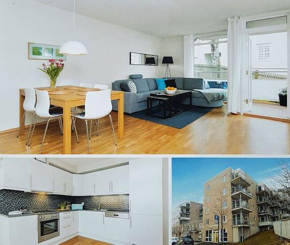 Modern apartment in Ilsvika
