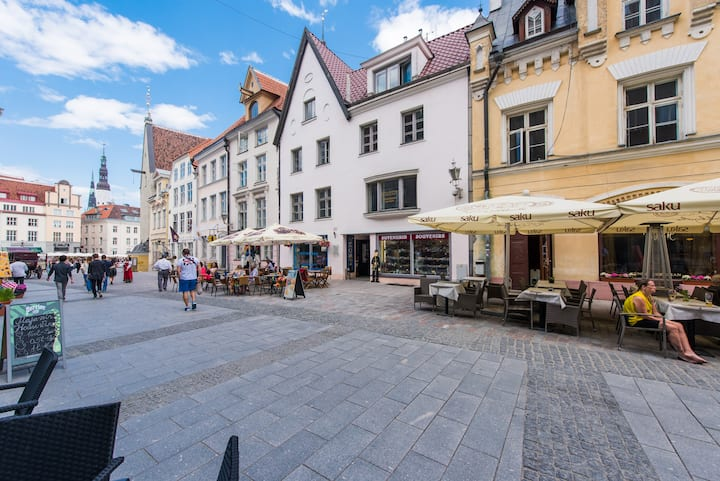 1 bedroom apartment next to Town Hall square