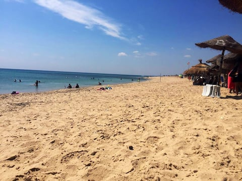 Appart cosy by the sea in Hammamet
