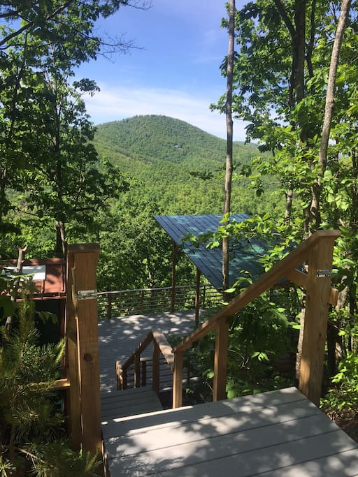 Camping Deck Near Asheville Nc Amazing Views