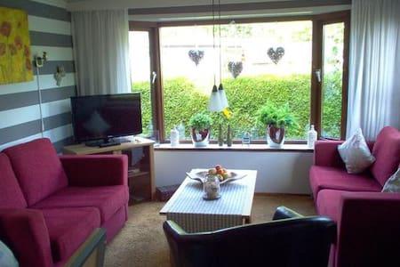 Gemütliches Ferienhaus an der Nordsee in Zeeland/Niederlande - Badestrand am Meer - idyllischer Garten mit Terrasse