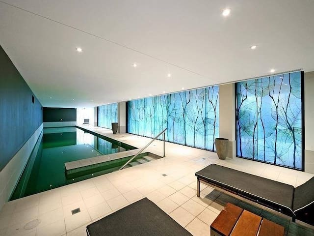 Indoor heated swimming pool available from 5 a.m. to 11 p.m.