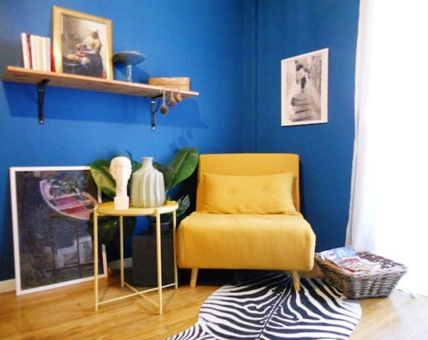 La Partita-Stylish flat in the heart of Athens