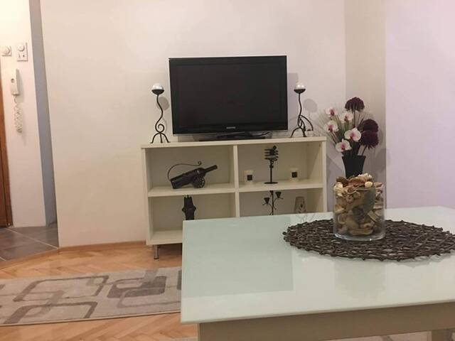 New and modern apartment near the city center.