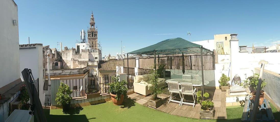 Habitación privada en pleno centro - Sevilla - Appartement