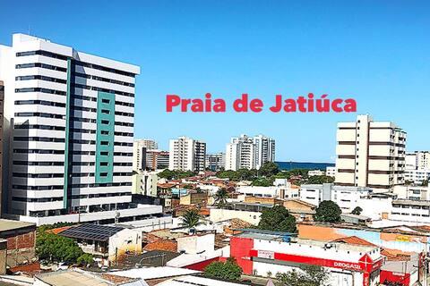 Qto privativo até 2 pessoas, econômico Prox Praia.