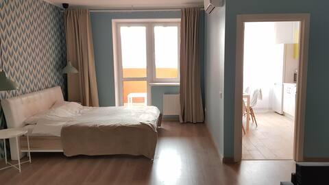 Квартира  в спальном районе, недалеко от центра