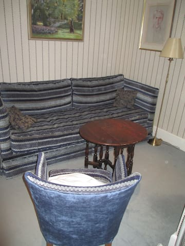 Small sitting room.