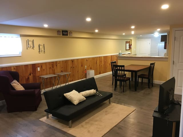 Seafoam Shore Furnished Basement Apartment