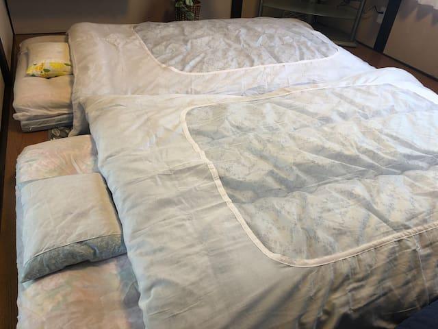 Futon mattress  寝室2