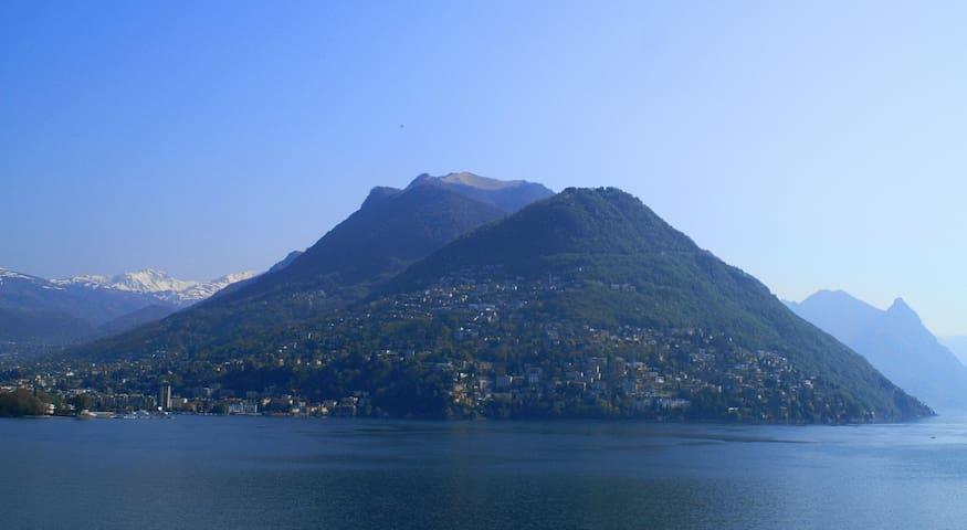Sicht zum Monte Brè