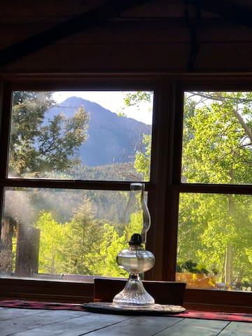 Peak View Log Home