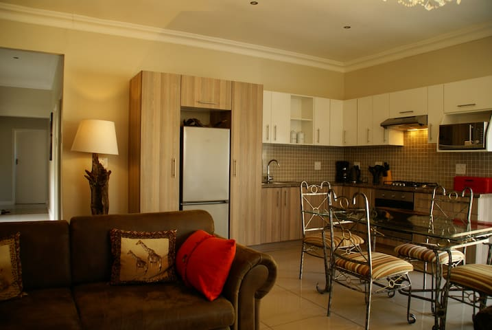 Living - dinning and kitchen