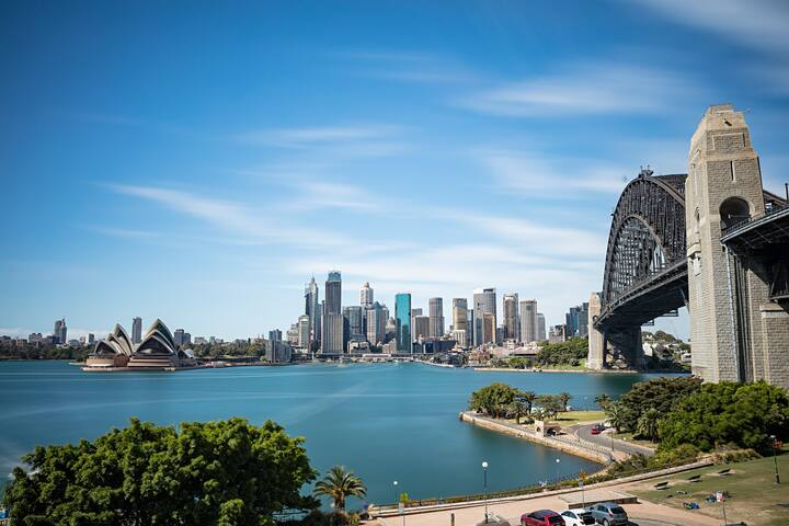 Vivid Syd Opera Hse Bridge views - Entire a'pment