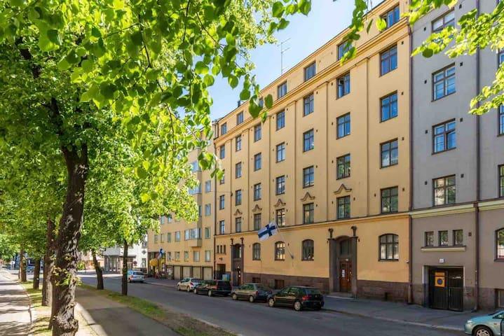 Cozy studio apartment in the heart of Kallio Hel