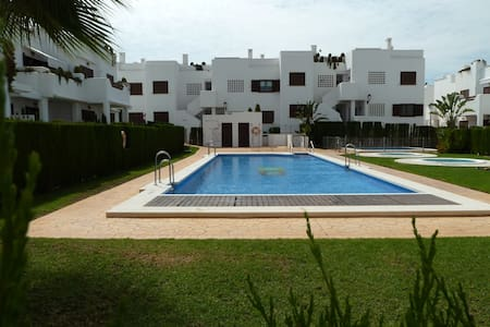 AS038 Apartment Mar Rabiosa - San Juan de los Terreros - อพาร์ทเมนท์