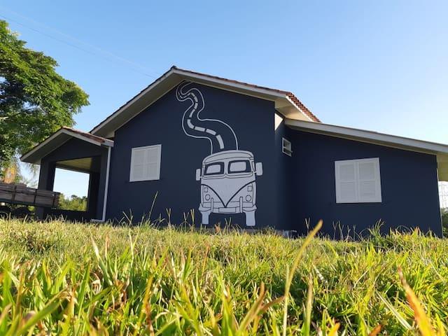 Casa da Kombi- Orleans -Cam Serra do Rio do Rastro