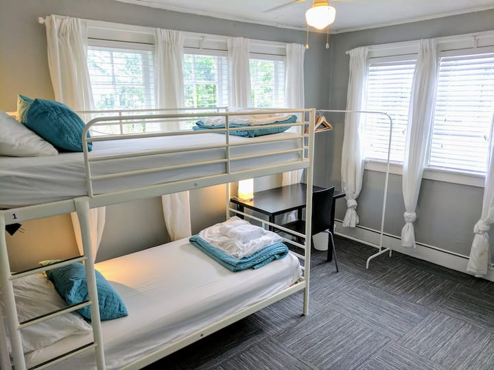 1 Single Bed in a Shared Coed Dorm at the Hostel