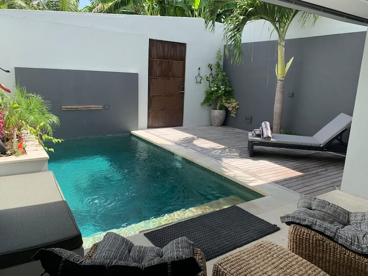 NEW 1BR  Pool Villa - 700 meter from the beach.