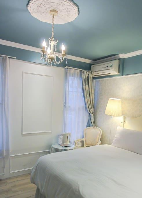 明亮的房間