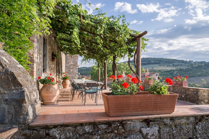 Typical Luxury Farmhouse at Panzano in Chianti