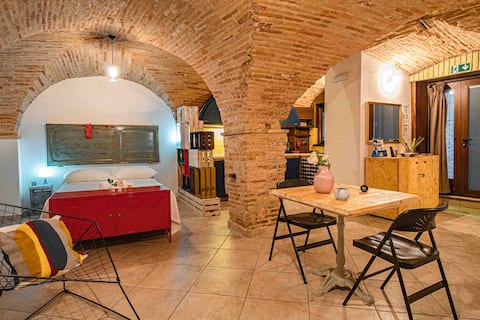 Open space design apartment in the old town