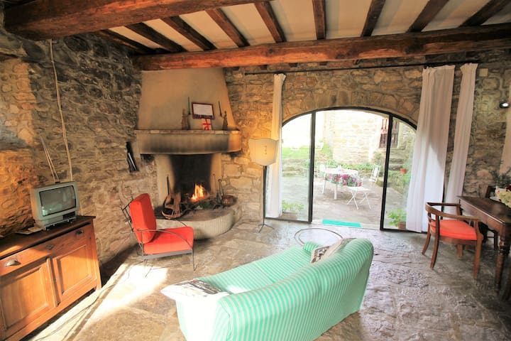Lovely old mill+pool near Florence - Londa - House