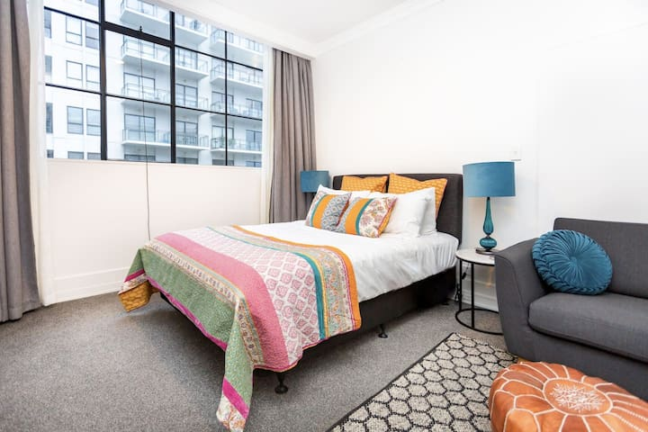 Modern Studio in CBD | 2 mins to Sky Tower