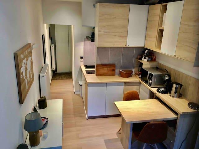 Comfy studio in Antwerp centre
