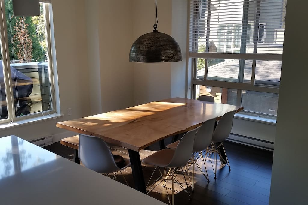 Dining table - room for 8