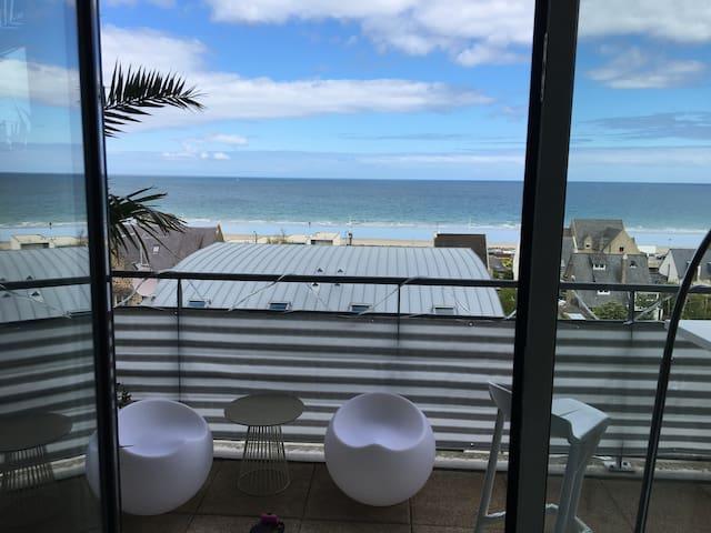 Appartement en front de mer - Plérin - Flat