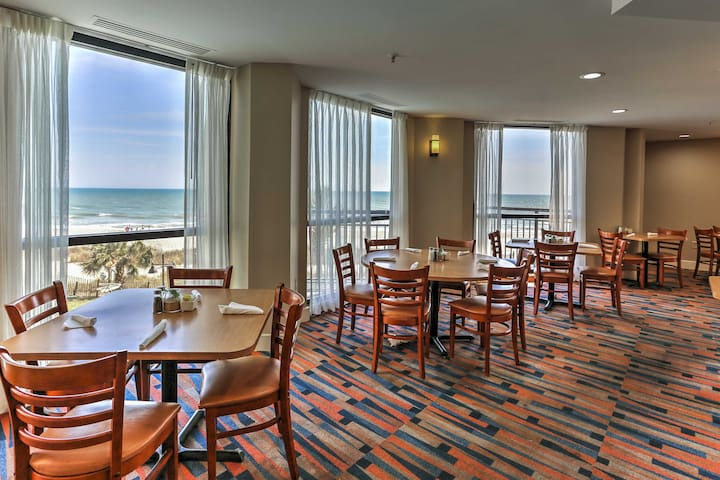 Eat lunch with an ocean view.