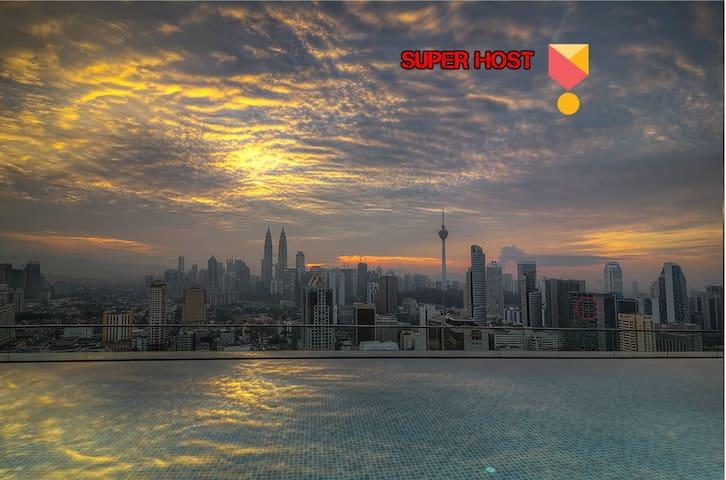 Amazing Rooftop View at Regalia Kuala Lumpur